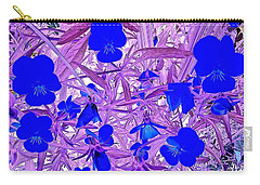 Pansy Splash Carry-all Pouch