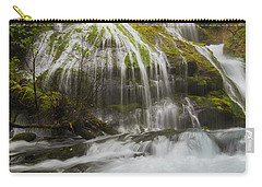 Panther Creek Falls In Fall Season Carry-all Pouch