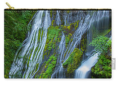 Panther Creek Falls Summer Waterfall 1 Carry-all Pouch