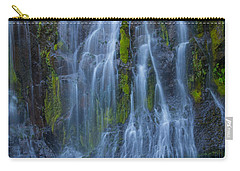 Panther Creek Falls Summer Waterfall -close 2 Carry-all Pouch