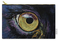 Panther Eye Carry-all Pouch by Michael Creese