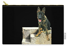 Carry-all Pouch featuring the photograph Panzer At Home In Germany by Janette Boyd