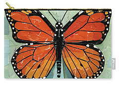 Paper Butterfly - Monarch Carry-all Pouch