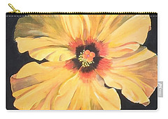 Paper Flower Carry-all Pouch