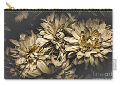 Carry-all Pouch featuring the photograph Paper Flowers by Jorgo Photography - Wall Art Gallery