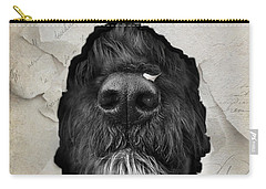 Carry-all Pouch featuring the photograph Paper Shredder by Robin-Lee Vieira