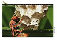 Paper Wasps 00666 Carry-all Pouch
