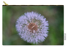 Parachute Club- Dandelion Gone To Seed Carry-all Pouch by David Porteus