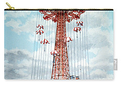Parachute Jump In Coney Island New York Carry-all Pouch