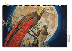 Paradise Birds Carry-all Pouch by Nop Briex