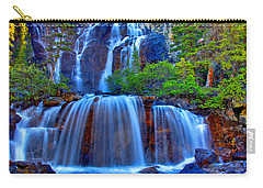 Paradise Falls Carry-all Pouch by Scott Mahon