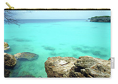 Carry-all Pouch featuring the photograph Paradise Island, Curacao by Kurt Van Wagner