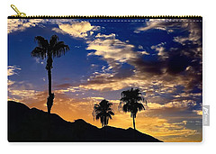 Carry-all Pouch featuring the photograph Paradise Palm Springs by Chris Tarpening