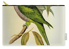 Parakeet Carry-all Pouch by John Gould