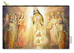 Parashakti Devi - The Great Goddess In Space Carry-all Pouch