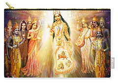 Parashakti Devi/ The Great Mother Goddess In Space Carry-all Pouch