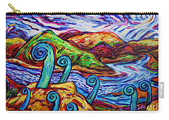 Paratawhiti At Oruru River Carry-all Pouch by Dianne  Connolly