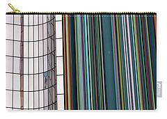 Paris Abstract Carry-all Pouch by Steven Richman