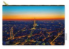 Paris After Sunset Carry-all Pouch