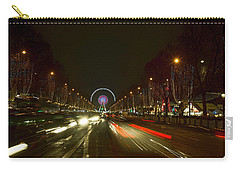 Paris At Christmas Time Carry-all Pouch