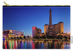Paris Casino At Dawn 2 To 1 Ratio Carry-all Pouch