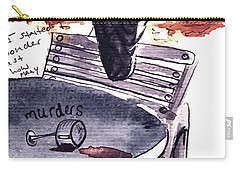 Paris Crow Carry-all Pouch