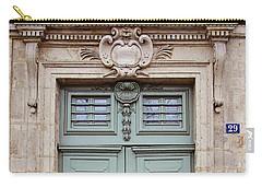 Paris Doors No. 29 - Paris, France Carry-all Pouch