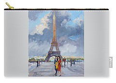 Paris Eiffel Tower Carry-all Pouch