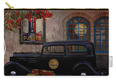 Carry-all Pouch featuring the digital art Paris In Spring by Jeff Burgess