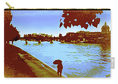 Paris In The Rain Carry-all Pouch