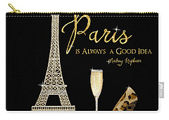 Paris Is Always A Good Idea - Audrey Hepburn Carry-all Pouch