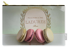 Paris Laduree Mint Box Of Macarons - Paris French Laduree Macarons  Carry-all Pouch