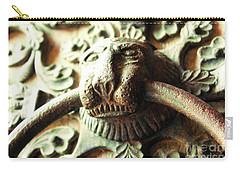 Paris Notre Dame Door Knocker Lion Carry-all Pouch
