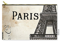 Paris, Ooh La La 1 Carry-all Pouch by Debbie DeWitt