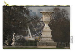 Carry-all Pouch featuring the photograph Paris Park by Katie Wing Vigil