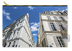 Carry-all Pouch featuring the photograph Paris Photography - Quai D-orleans by Melanie Alexandra Price