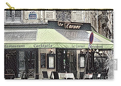 Paris - Restaurant Carry-all Pouch