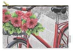 Paris Ride 2 Carry-all Pouch by Debbie DeWitt