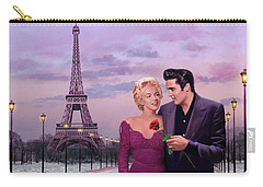 Paris Sunset Carry-all Pouch by Chris Consani
