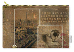 Paris, The City Of Lights And Love Carry-all Pouch