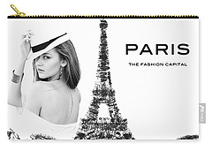 Paris The Fashion Capital Carry-all Pouch