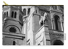 Paris Visit To Sacre Coeur Cathedral Carry-all Pouch