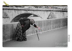Parisian Beggar Lady Carry-all Pouch