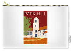 Park Hill Maroon Carry-all Pouch
