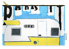 Park It-yellow Carry-all Pouch