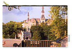 Carry-all Pouch featuring the photograph Park University by Steve Karol