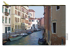 Carry-all Pouch featuring the photograph Parked In Venice by Roberta Byram