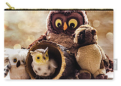 Parliament Of Owls Carry-all Pouch by Martina Fagan