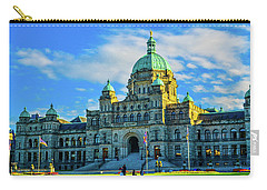 Parliament Victoria Bc Carry-all Pouch