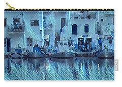 Paros Island Beauty Greece Carry-all Pouch by Colette V Hera Guggenheim